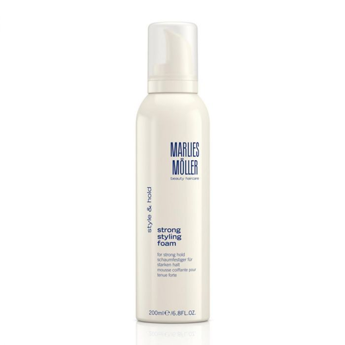 Marlies Moller Style And Hold Strong Styling Mousse 200ml