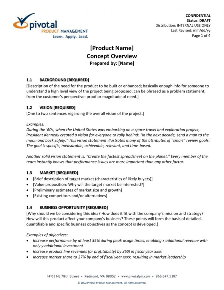 Product Management Document Template Document Template Management Relationship Management