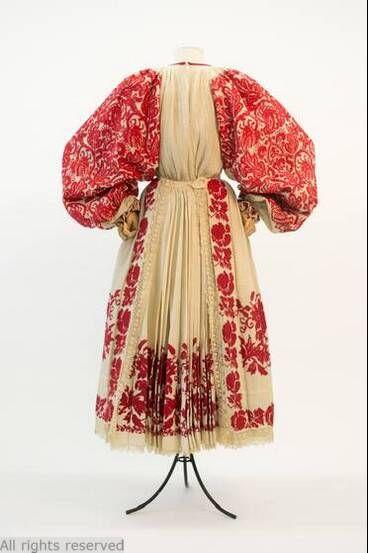 Folk costume, 1940-60, Yugoslavia.