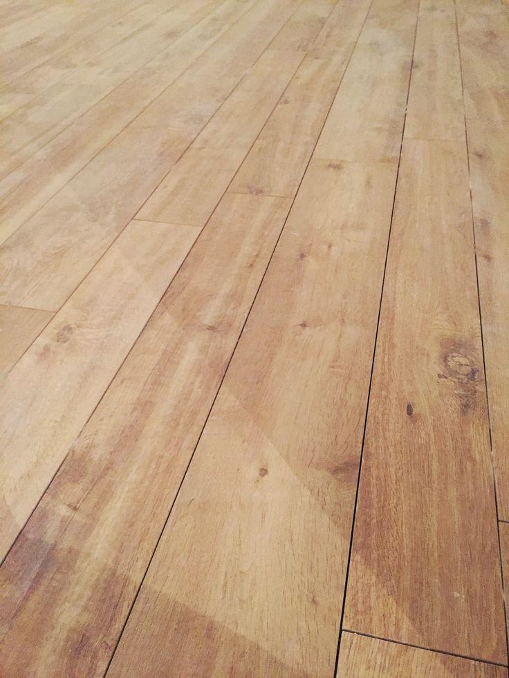 il mio pavimento: gres porcellanato effetto legno - treverkhome Larice ancora non stuccato... My floor! A DREAM by Il Sogno di Alice