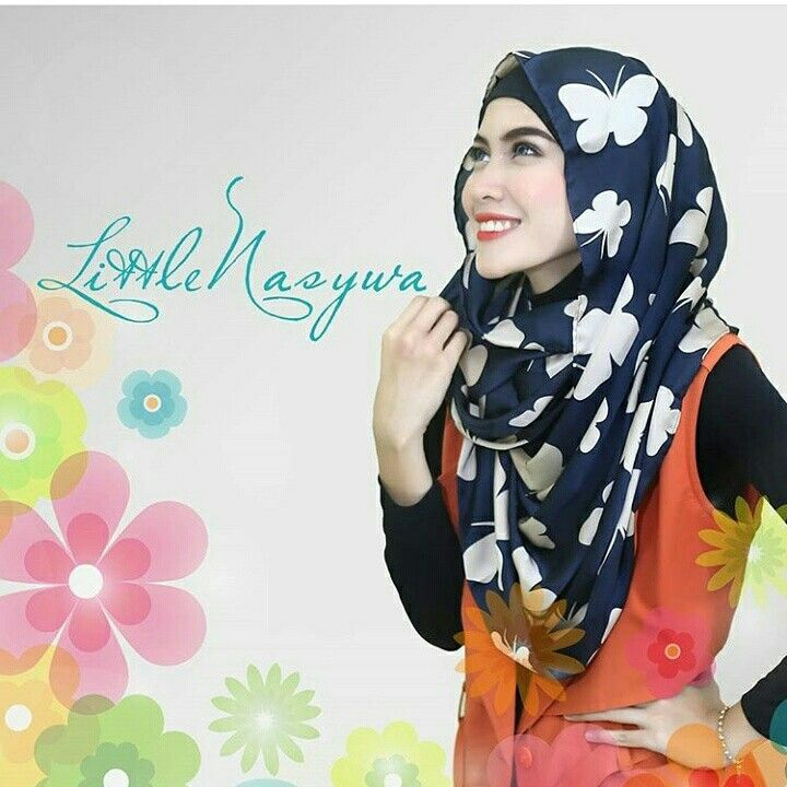 Nasywa Snood Butterfly Navy