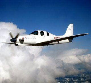 Lancair Evolution-4 seat turboprop with PT-6/ Presserized home build from Lancair.
