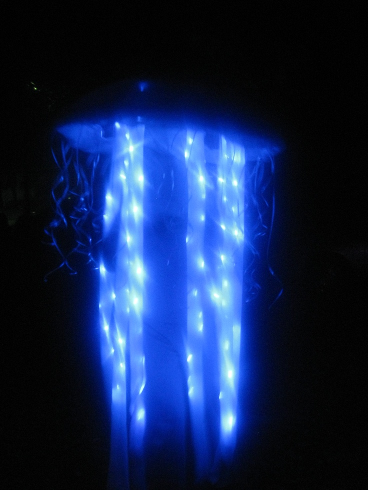 Glowing jellyfish costume images for Jellyfish lights