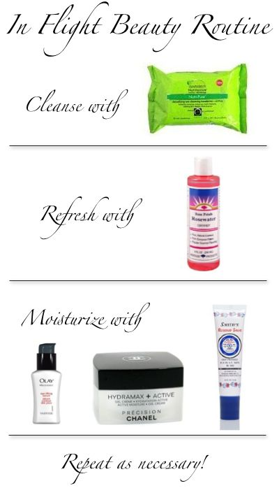 In Flight Beauty Routine - Hitha On The Go