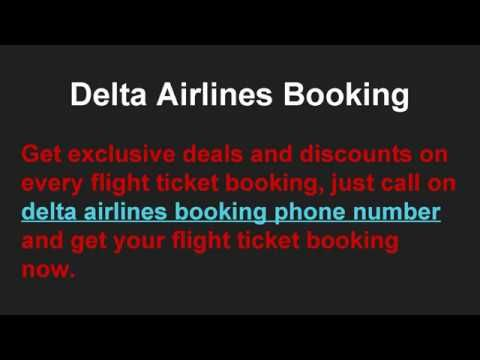 How to Contact Delta Airlines Reservations Phone Number 1-888-701-8929