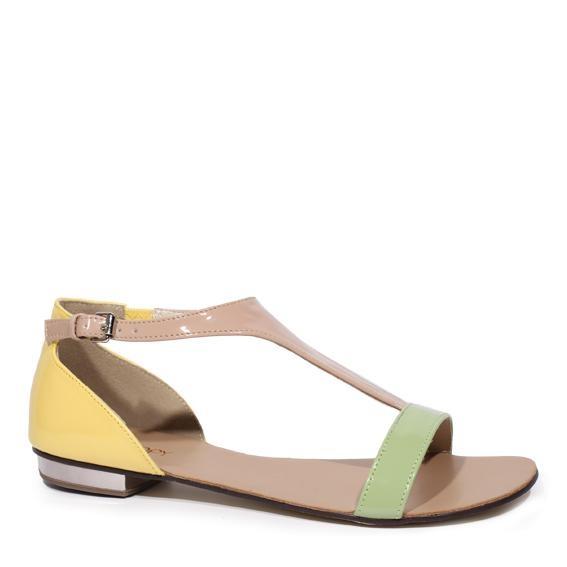 Callis Sandal - Pastel Multi