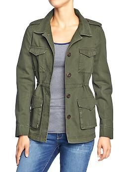 Womens Military-Style Jackets $39.94 OLD NAVY 50% OFF ON BLACK FRIDAY!!