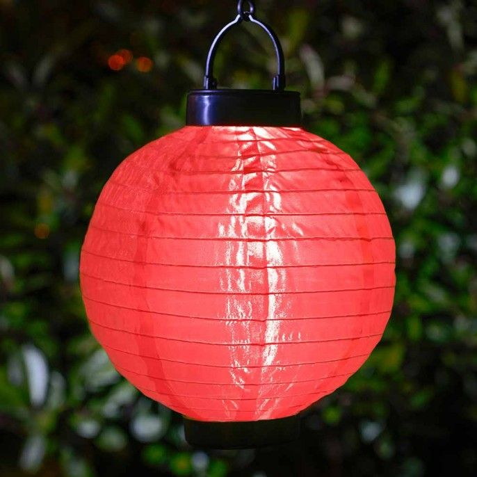 COLOURFUL GARDEN SOLAR LANTERNS - Solar Lights - Garden & Outdoor | Poundstretcher