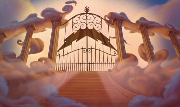 Empty Backdrop from Hercules - disney-crossover Screencap