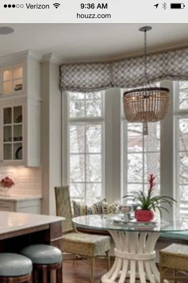 Curtains window seat kitchens pinterest window for Window seat curtains