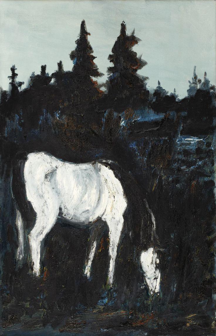 amare-habeo:Hans Wigert (Swedish, born 1932) The Horse, 1974 via lawrenceleemagnuson