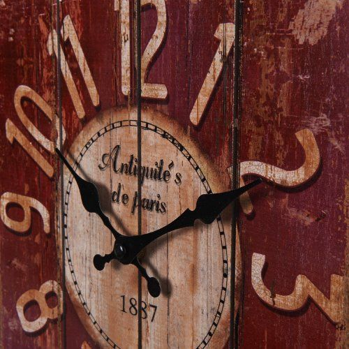 "Amazing LightInTheBox 15"" Country Style Vintage Wall Clock Home Decor Design Wall Clocks"