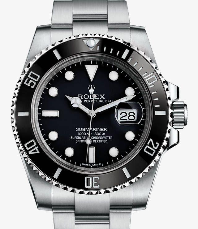 Rolex Submariner Date Watch: 904L steel - 116610_ln