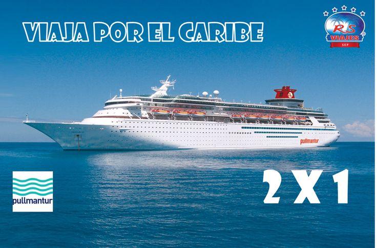 Viaja por el Caribe en crucero con nuestras promociones, 2x1 solo con @rs_sep  Inforrmes solo con nuestros agentes