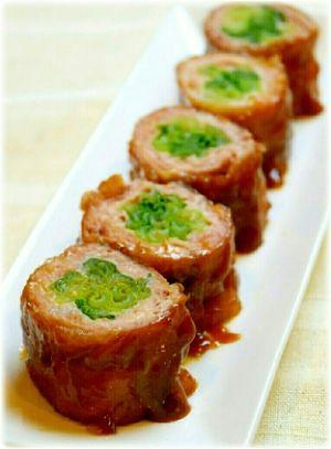 「冷めても美味しい!小松菜の豚肉巻き」