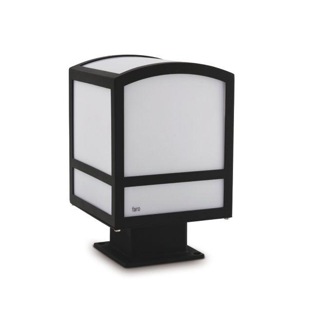 Lámpara de jardín para sobremuro #lamparas #jardin #iluminacion #led #decoracion #interiorismo #luz #verano