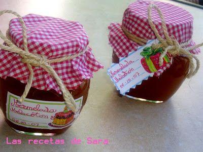 Las recetas de Sara: Mermelada de Melocotón ( Convencional)