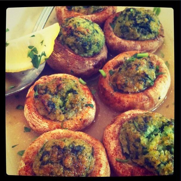 Maggiano's Celebrates National Stuffed Mushroom Day!
