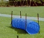 DIY Agility Course When we have a house we will make this for Nelly!