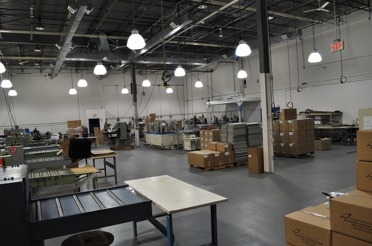 Contract Packaging area!