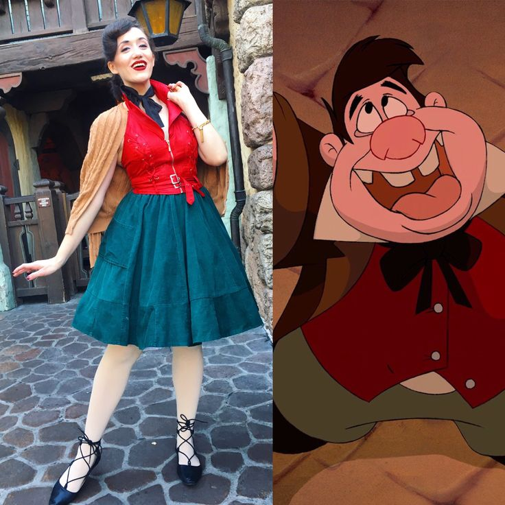 Lefou Gaston sidekick Beauty and the Beast Disneybound Disneyland