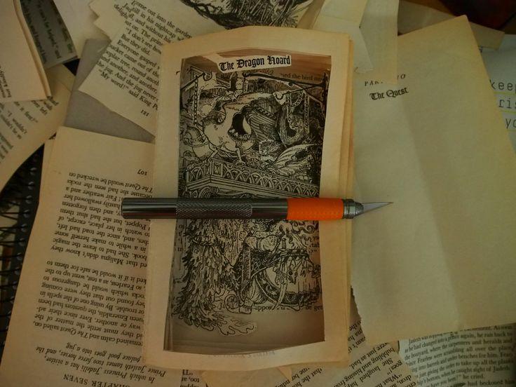 The Dragon Hoard - book art