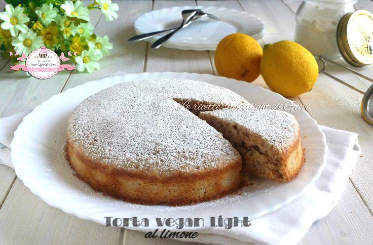 Torta+vegan+light+al+limone+(165+calorie+a+fetta)