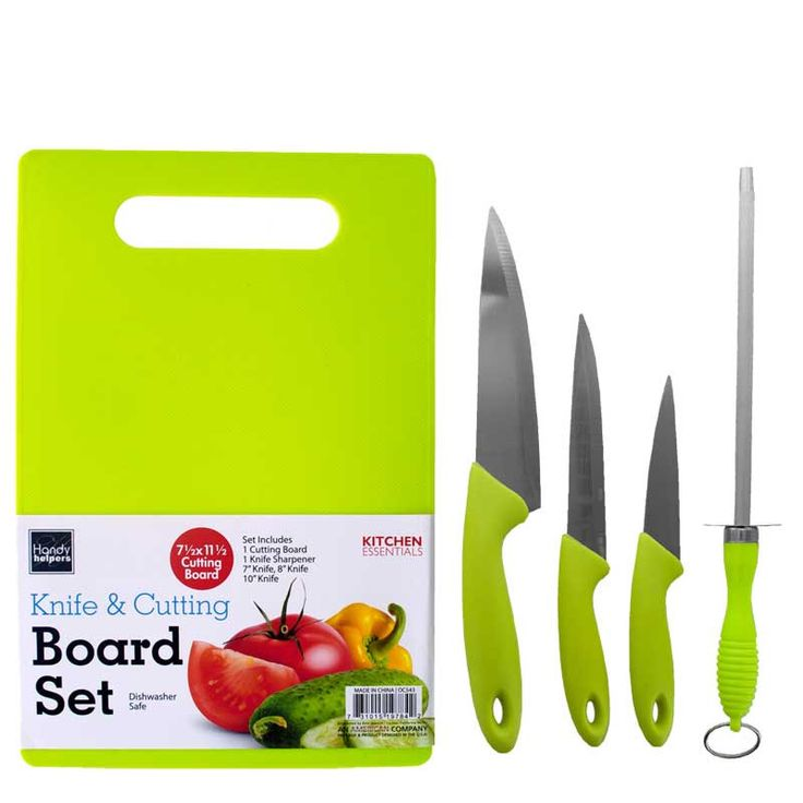Knife & Cutting Board Set