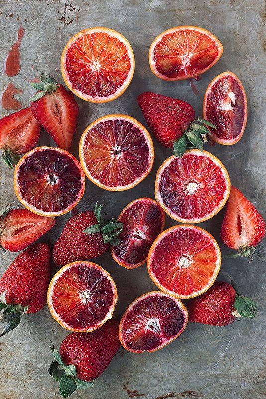 Strawberry Blood Orange Margarita