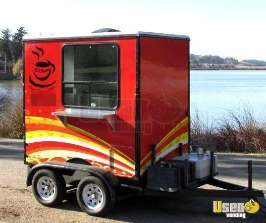 Coffee and Hot Dog Concession Trailer in California for Sale!!!