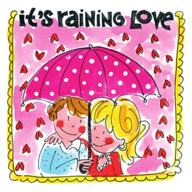 It's raining love - Blond Amsterdam