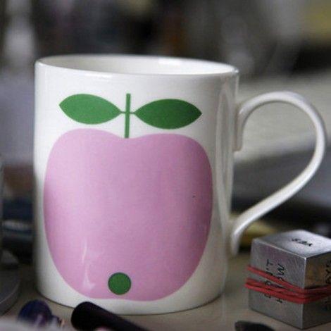 mug Apple rose