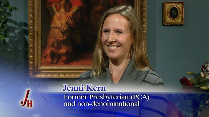 Jenni Kern grew up a dyed-in-the-wool Calvinist.  She even considered carrying tulips down the aisle at her wedding in honor of John Calvin's 5 point T.U.L.I.P. doctrine!  Her husband felt...
