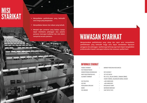 Berkat Resources Company Profile on Behance