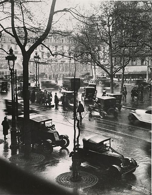 Boulevard Malesherbes at Midday, Paris, 1925, André Kertész. (1894 - 1985)
