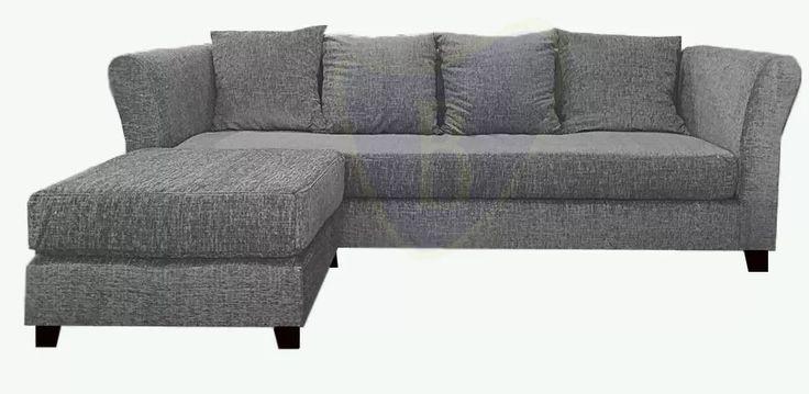 sillón 3 cuerpos chenille camastro  placa + 4 almohadones
