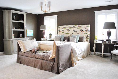Homearama: Moody Bedroom