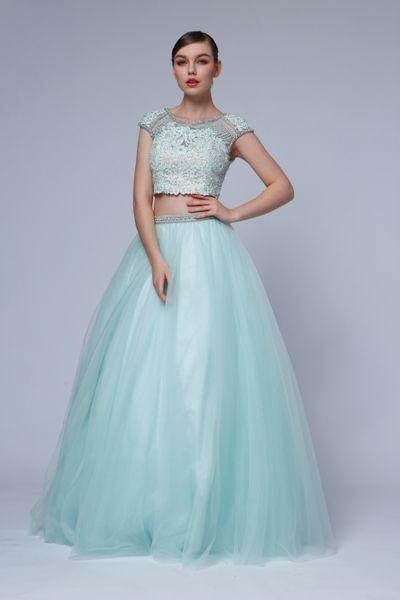Dievčenské popolnočné šaty - FARBA popolnočných šiat