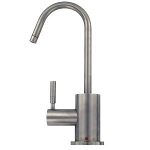 Mountain Plumbing MT1400 Contemporary Hot Water Dispenser Faucet w/ Round Base & Handle - FreshWaterSystems.com