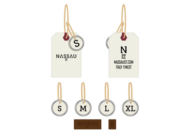 Nassau St - Labeling Personal project about vintage fleece and tees in collaboration with Superstylin' Shop in Rome. #nassau #apparell #typography #logo #classicocoolestclub #superstylin #custom #lettering #illustration #monograms #composition #vintage #label #size