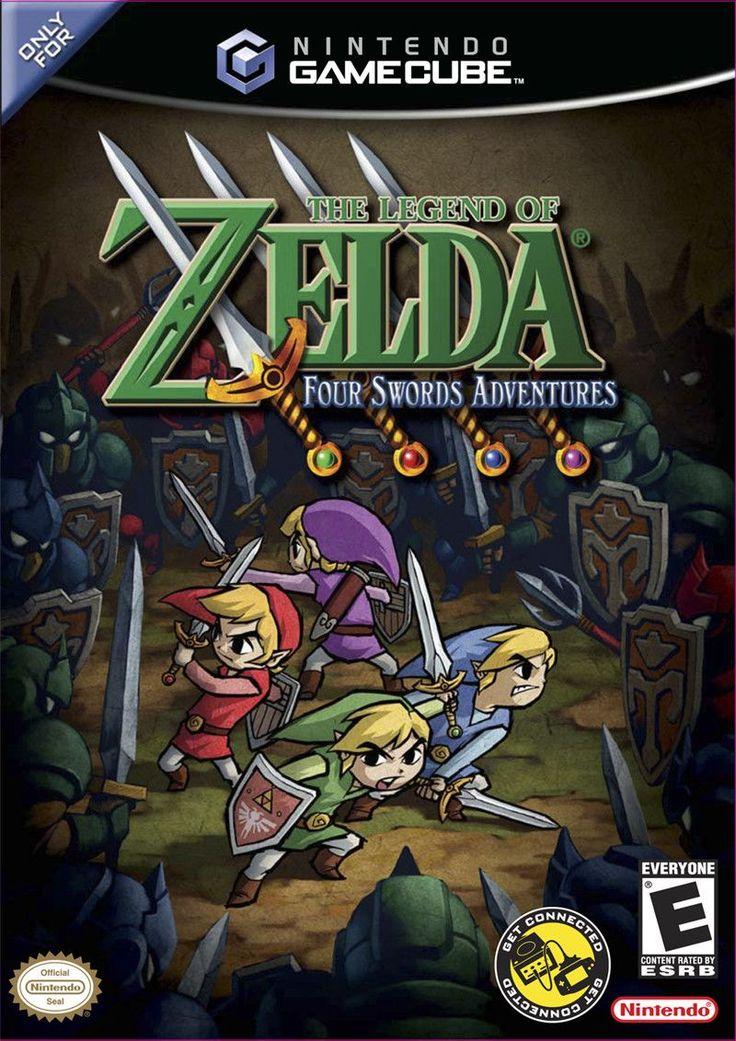 The Legend of Zelda: Four Swords Adventures for Nintendo Gamecube.