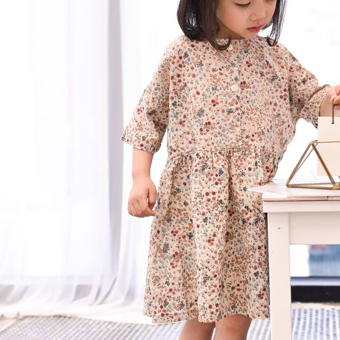 Little Collie Small Flower Dress (2C)
