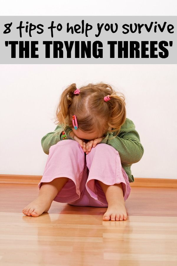 """Tips for surviving a """"threenager."""""""