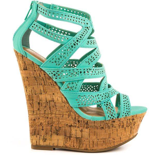 1000  ideas about Green Wedges on Pinterest  Wedge sandals