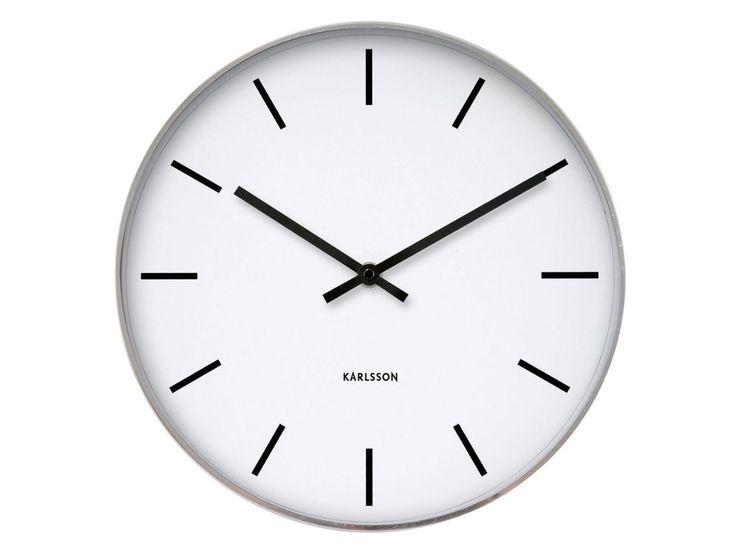 Zegar ścienny Station Classic Karlsson