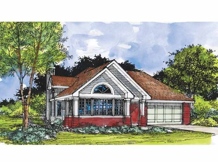 Eplans cottage house plan two bedroom cottage 1421 for Eplans cottage house plan