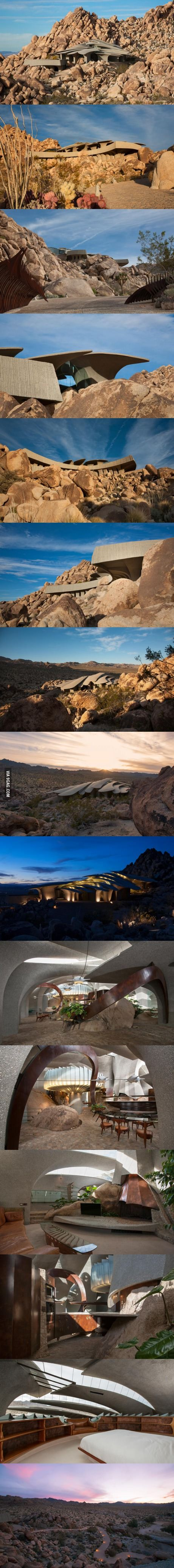 The latest Supervillain lair is now for sale in Joshua Tree, California.