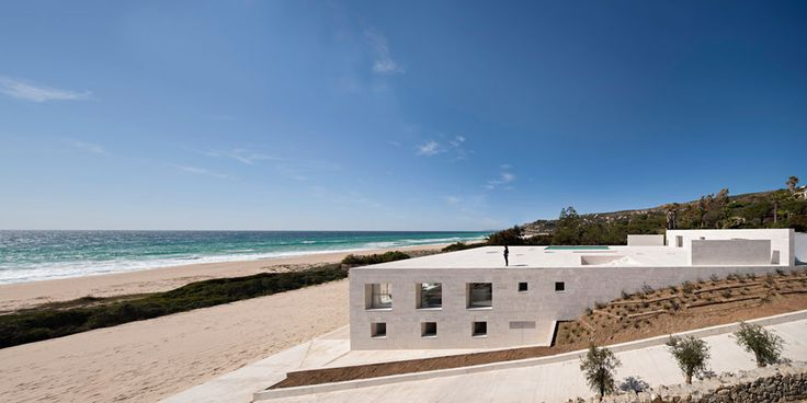 Alberto Campo Baeza - House of the Infinite @ Cádiz, Spain (2014)