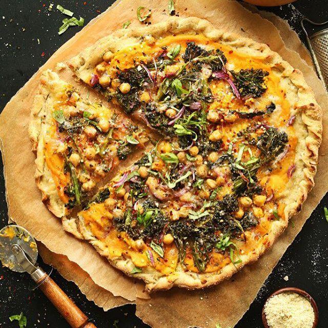 Тыквенная пп-пицца