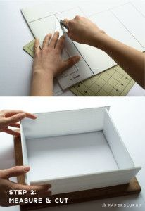 how to make a deckle box for hand paper making